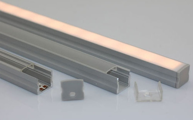 display lighting aluminium profiles