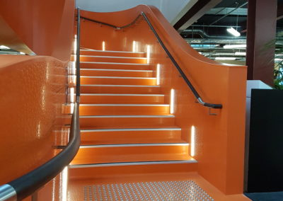 B:Hive LED Neon Flex Staircase
