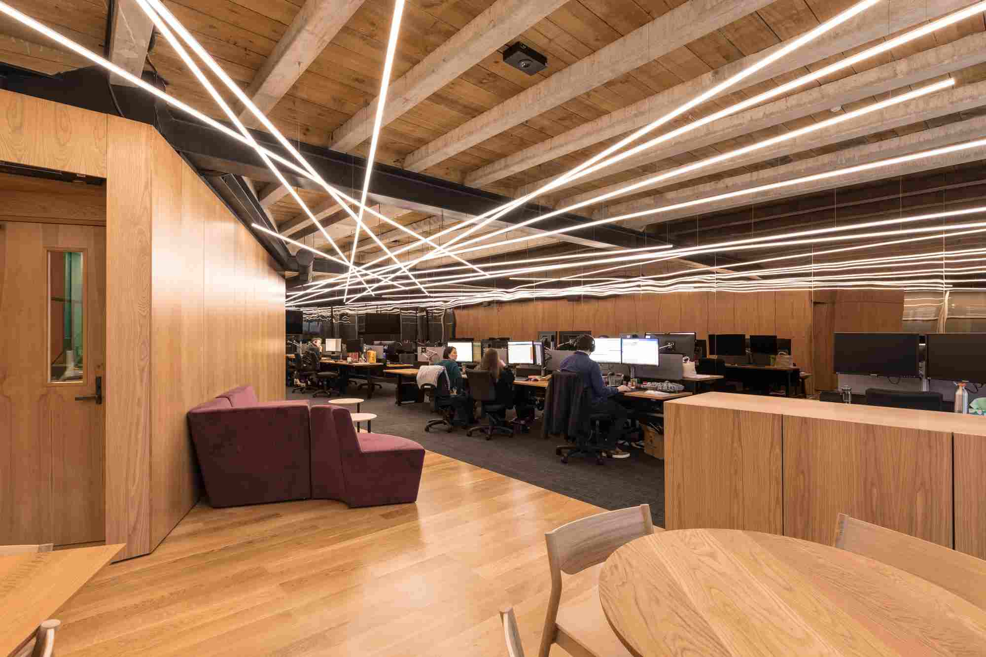 The Wedge - Office Fitout