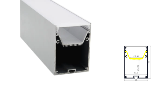 direct suspended led profile