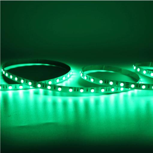 led strip rgb green